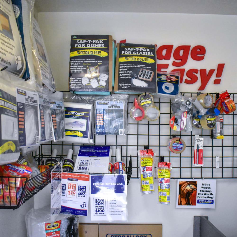 Moving supplies for sale at STOR-N-LOCK Self Storage in Cottonwood Heights, Utah