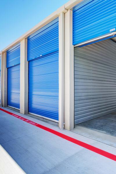 Storage units inside of Silverhawk Self Storage in Murrieta, California