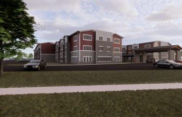 Exterior rendering of Kearney location