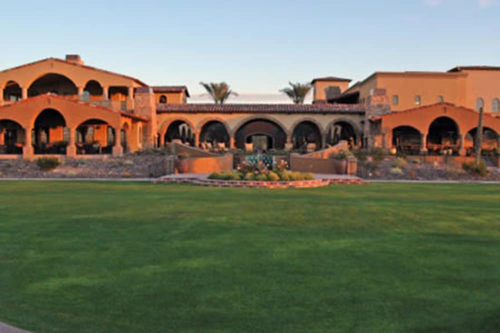 Exterior of Vistancia in Peoria, Arizona