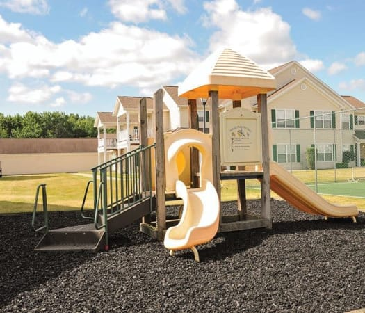 Onsite playground at Westview Commons Apartments in Rochester, New York
