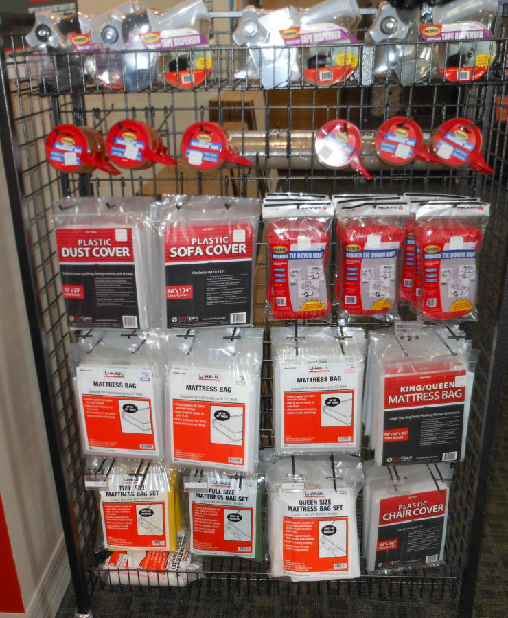 Office supplies available at StorQuest Self Storage in Venice, Florida