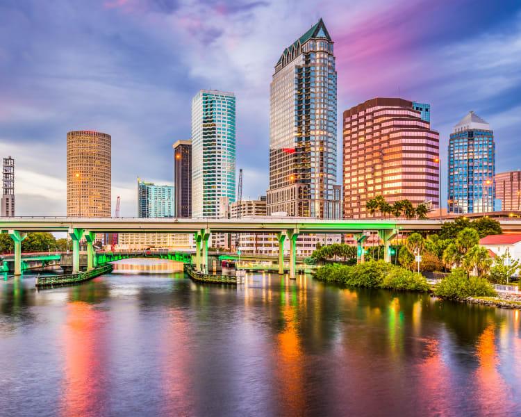 City life living at Amira at Westly in Tampa, Florida