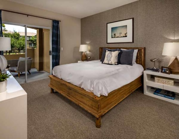 Furnished apartments available at Castlerock at Sycamore Highlands in Riverside, California