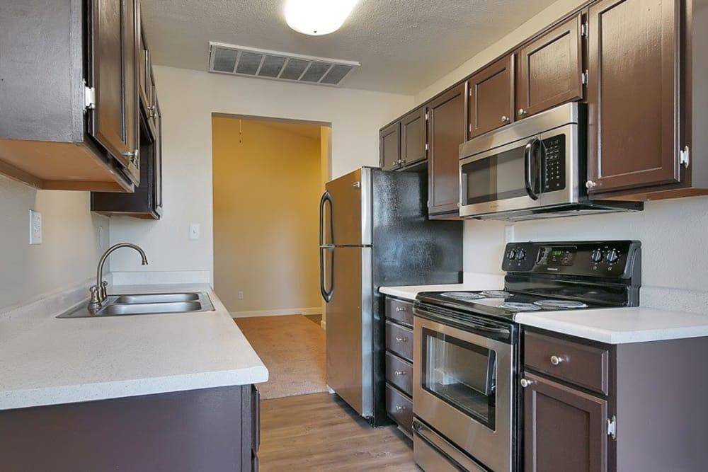 Beautiful kitchen at apartments in Phoenix, Arizona