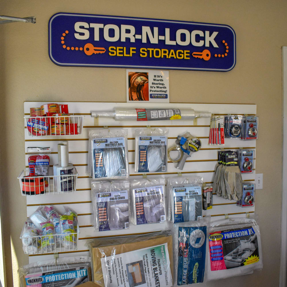 Moving supplies for sale at STOR-N-LOCK Self Storage in Thornton, Colorado