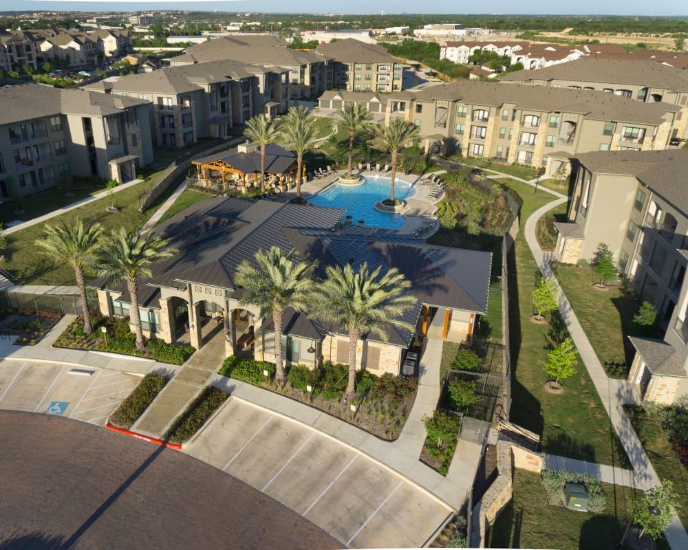 Aerial view of Savannah Oaks in San Antonio, Texas.