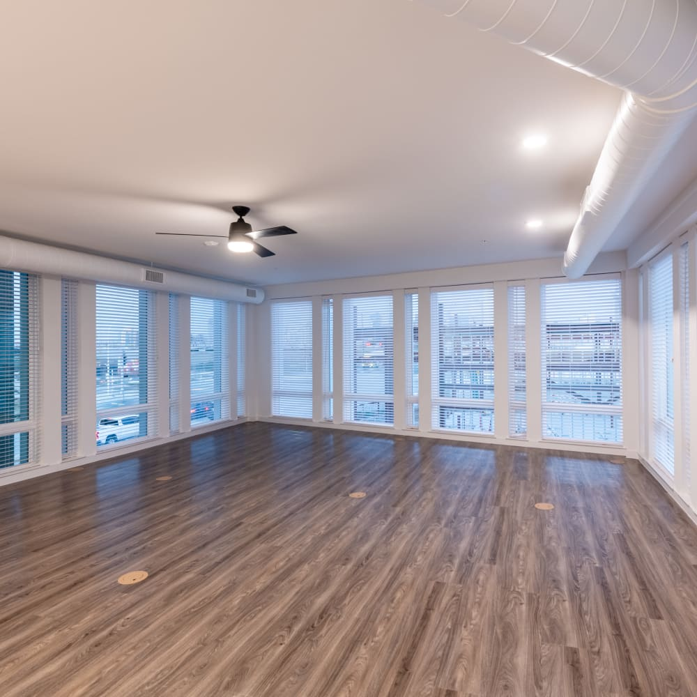 Huge spacious floor plans at The Langford in Dallas, Texas