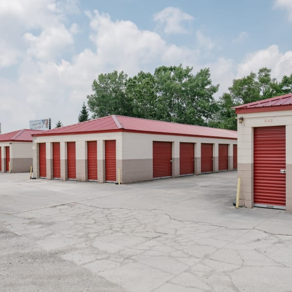 Self storage units for rent at StayLock Storage in Muncie, Indiana