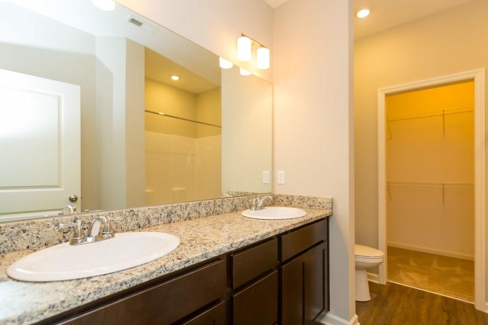 Bathroom at Oakwood Estates in Hixson, Tennessee