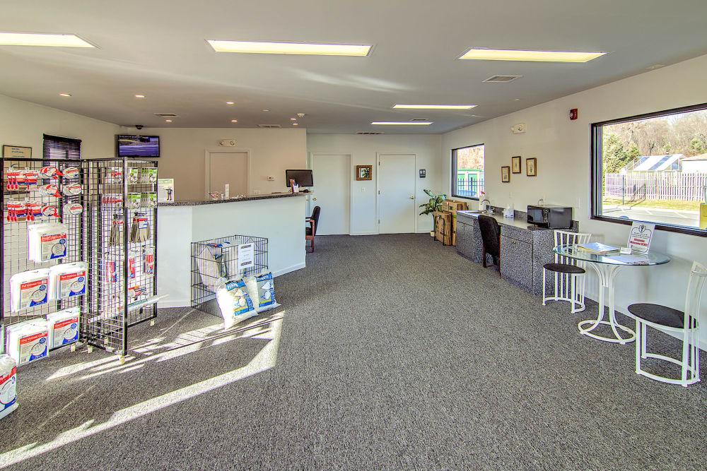 Leasing office at Laurel Self Storage in Lindenwold, NJ