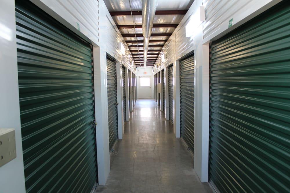 Interior hallway at  Maximum Mini Storage Rittiman