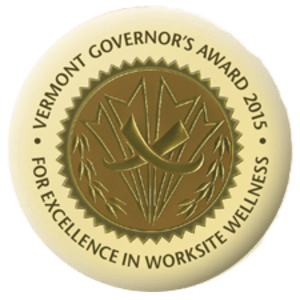 Vermont Governor's Award 2015 for Excellence in Worksite Wellness awarded to Terrace Communities