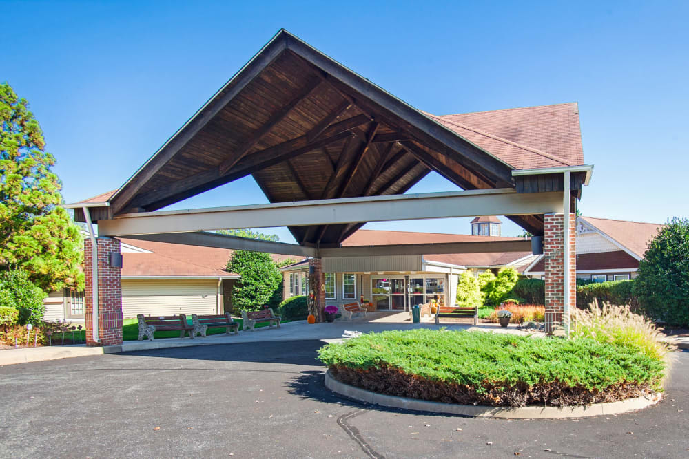 Main building at Glen Riddle in Glen Riddle, Pennsylvania