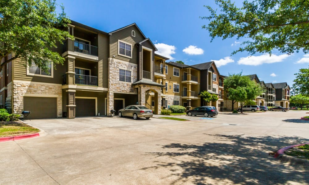 Parking area at Legacy at Cypress in Cypress, Texas