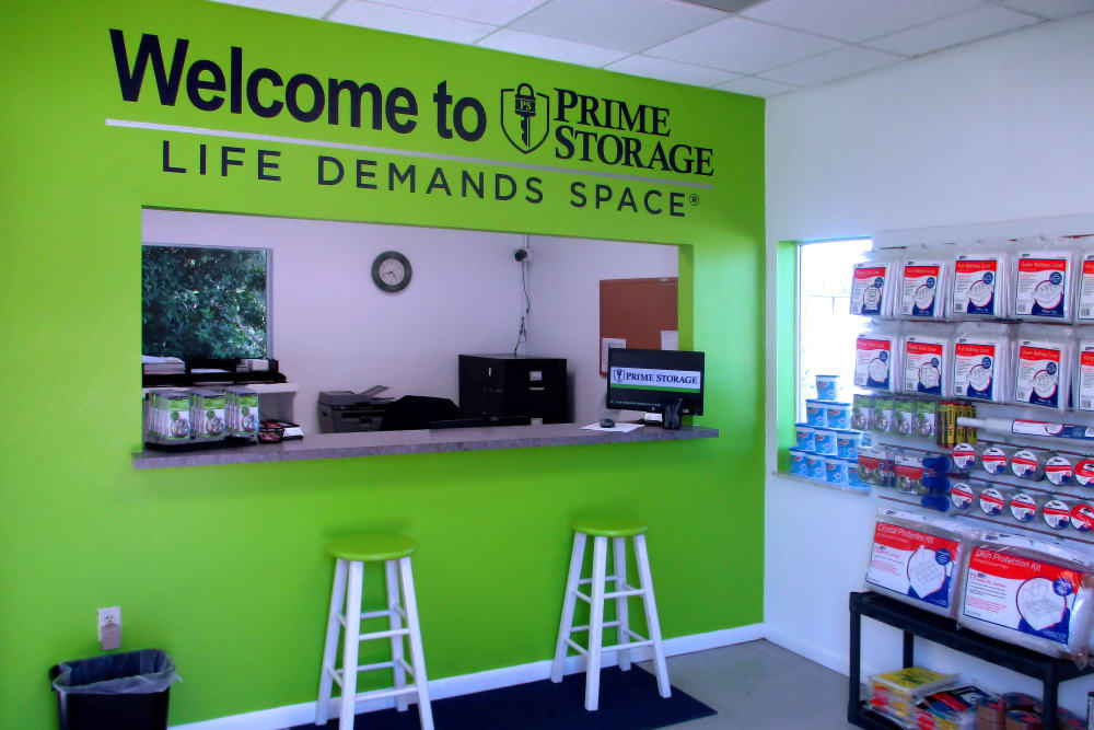 Find all your packing supplies at Prime Storage in Rockledge, Florida