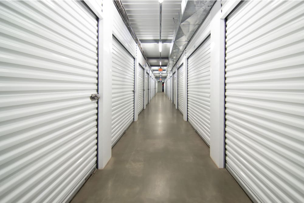 Interior units at Capital Self Storage in Liberty, NY