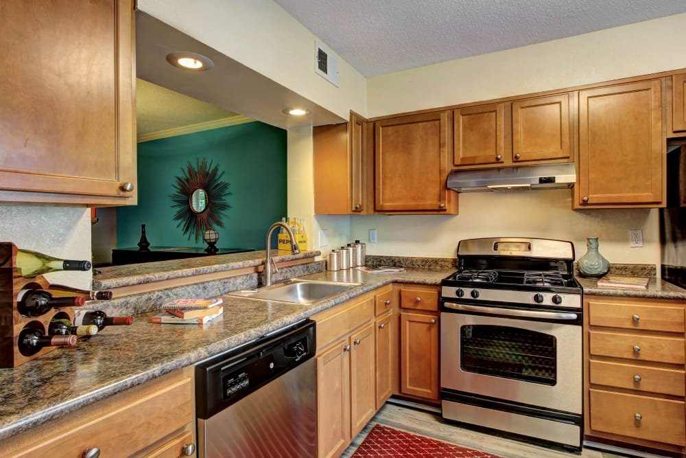 kitchen example at The Marquis Perimeter Center
