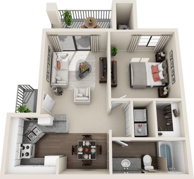 One Room Apartment: 1, 2 & 3 Bedroom Apartments In Tucson, AZ