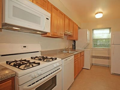 Spacious kitchen at apartments in Westfield, New Jersey