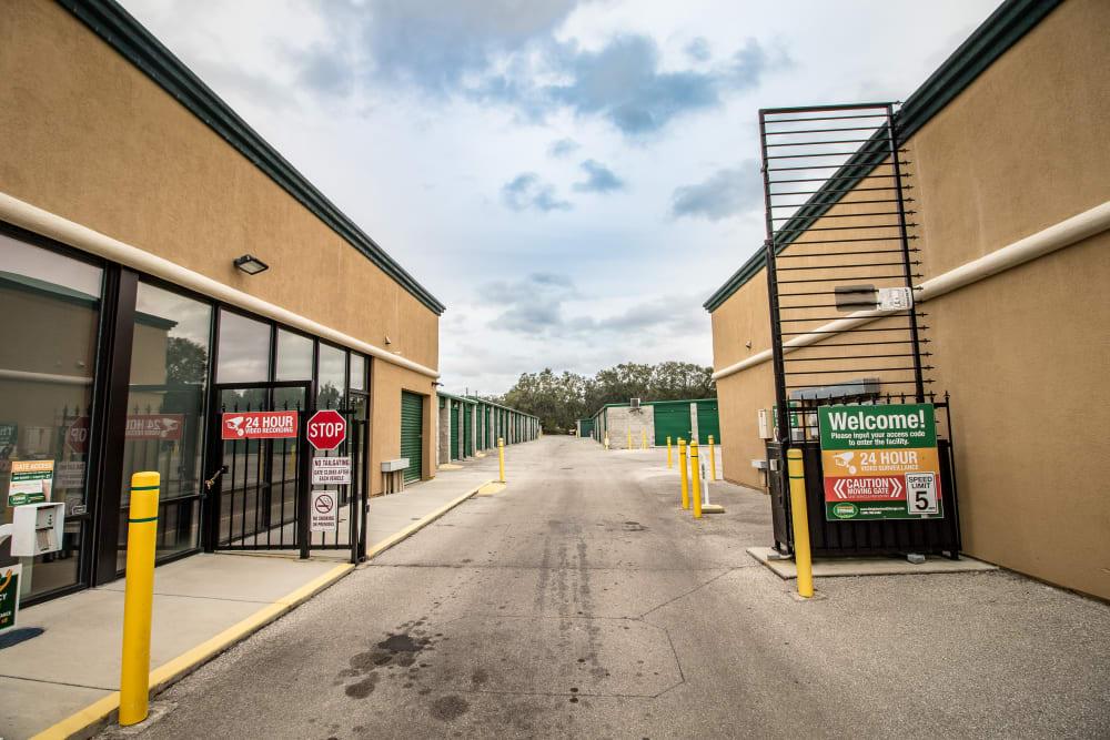 Neighborhood Storage access gate in Belleview