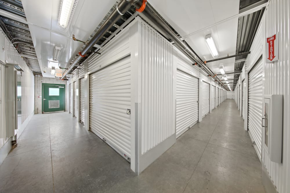 Climate controlled units at Market Place Self Storage
