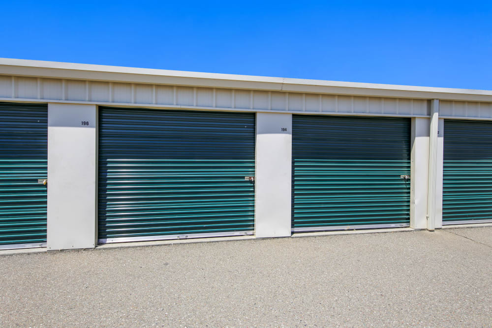 Climate-controlled storage units at Storage Star Woodland in Woodland, California