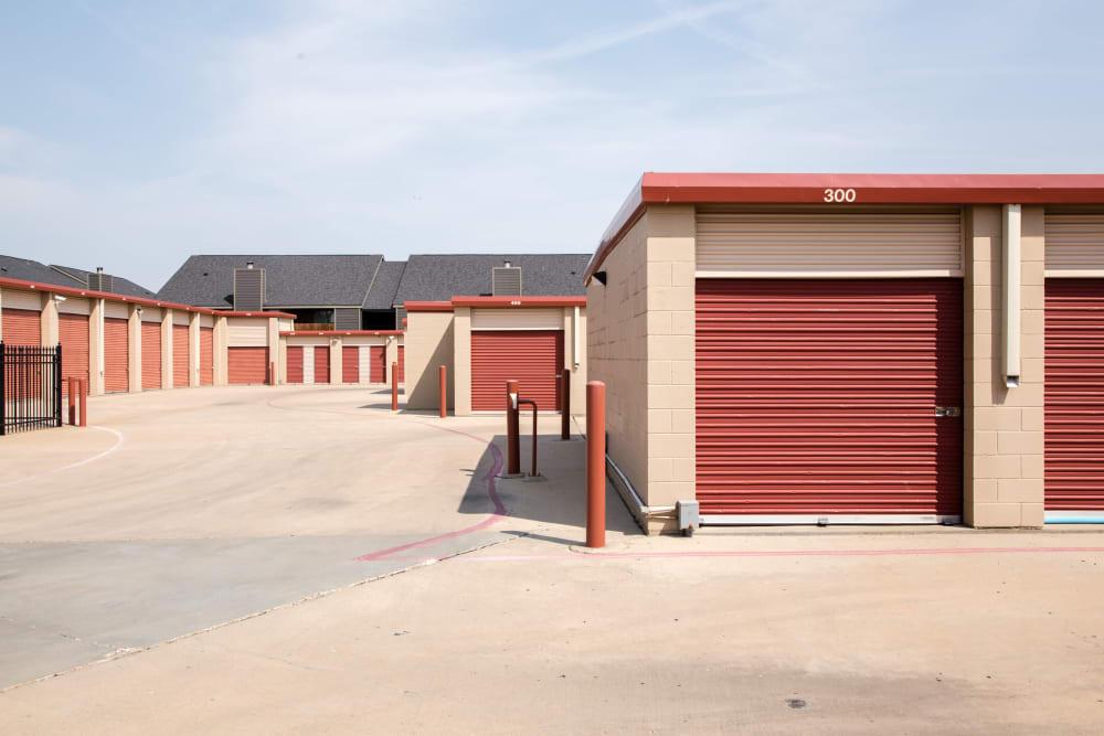 Outdoor units at Metro Self Storage in Amarillo, Texas