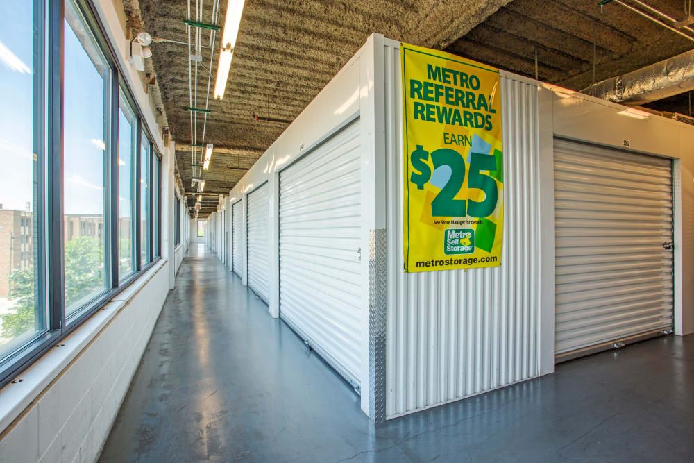 Interior Units at Metro Self Storage in Chicago, IL