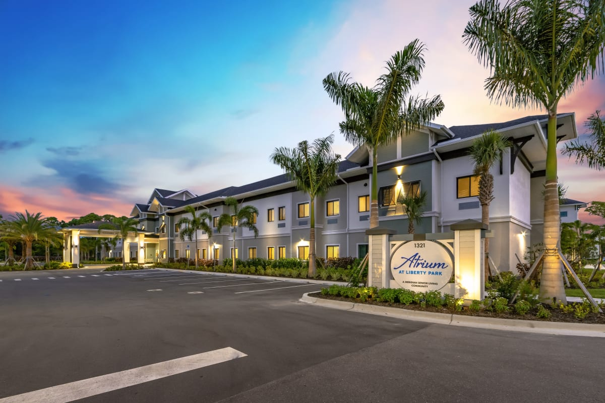 One of the newly developed Meridian Senior Living communities