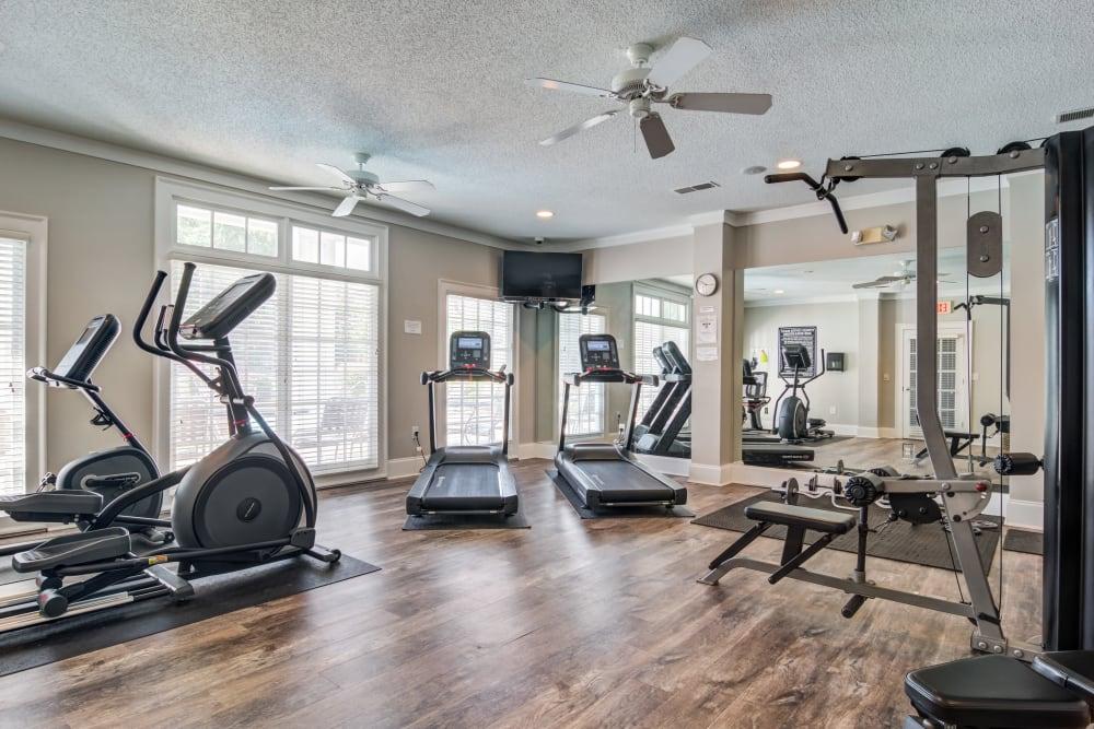 Beechwood Pines's advanced fitness center
