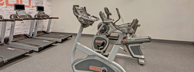 Spin bikes at Manor House in Dallas, Texas
