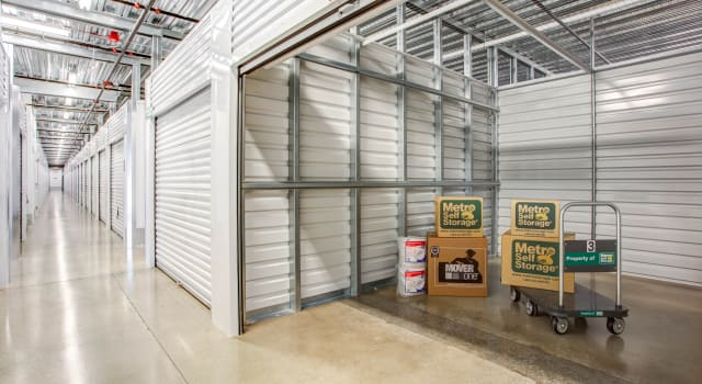 Climate controlled units at Metro Self Storage in Skokie, IL