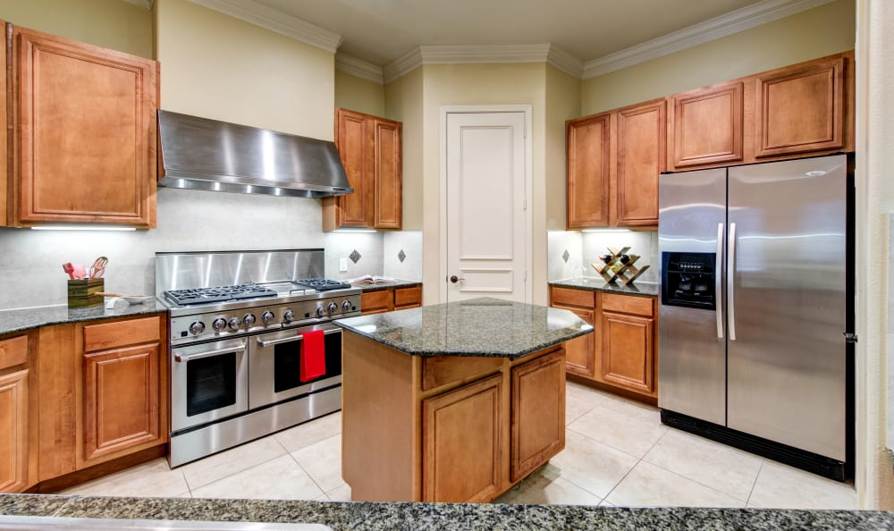 Nice clean kitchen in our San Antonio, TX apartments