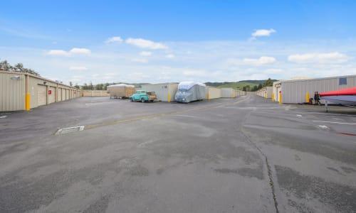 Carneros Self Storage Park offers Exterior Storage Units in Sonoma, California