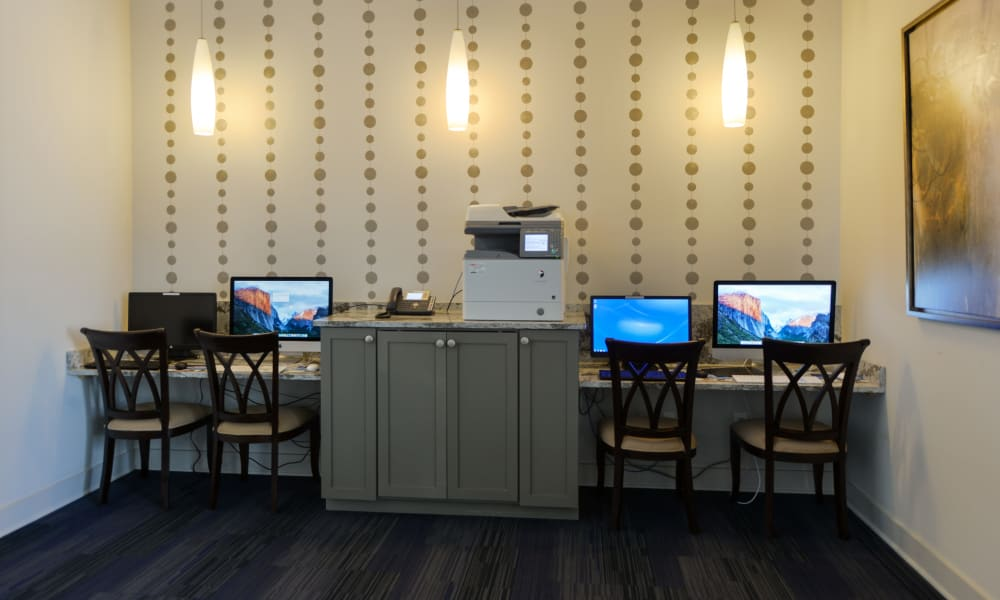 Office area at Cabana Club and Galleria Club in Jacksonville, Florida