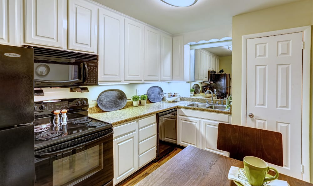 Spacious kitchen in our Nashville, TN apartments