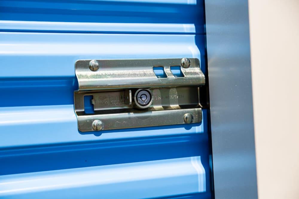 Security lock at Battle Ground Mini Storage in Battle Ground, Washington