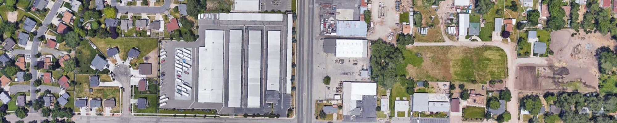 Our self storage locations at Lock It Up Self Storage in Ogden, Utah