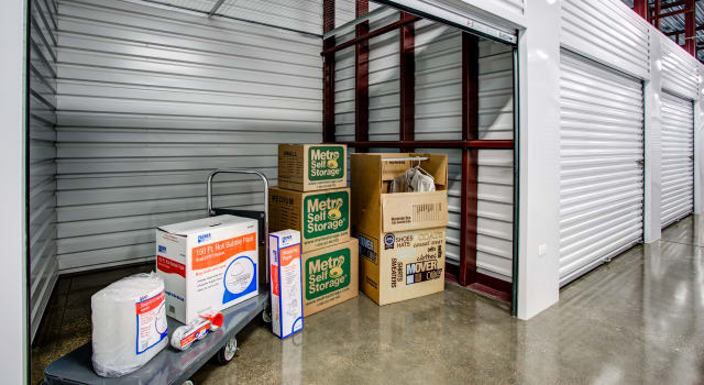 Climate controlled units at Metro Self Storage in Mundelein, IL