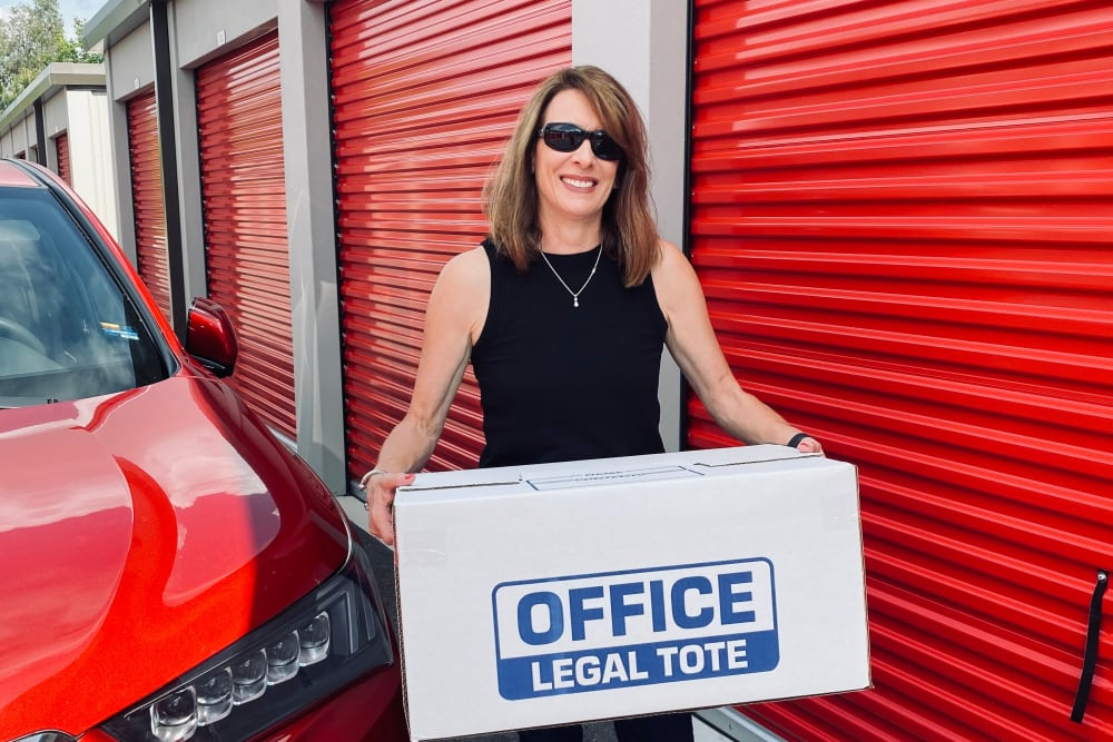 Legal tote at Storage Authority Land O' Lakes in Land O' Lakes, Florida