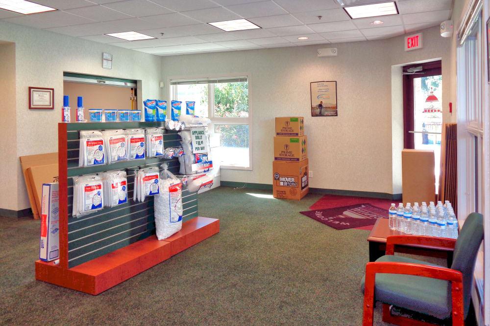 Lobby at Capital Self Storage in Harrisburg, PA
