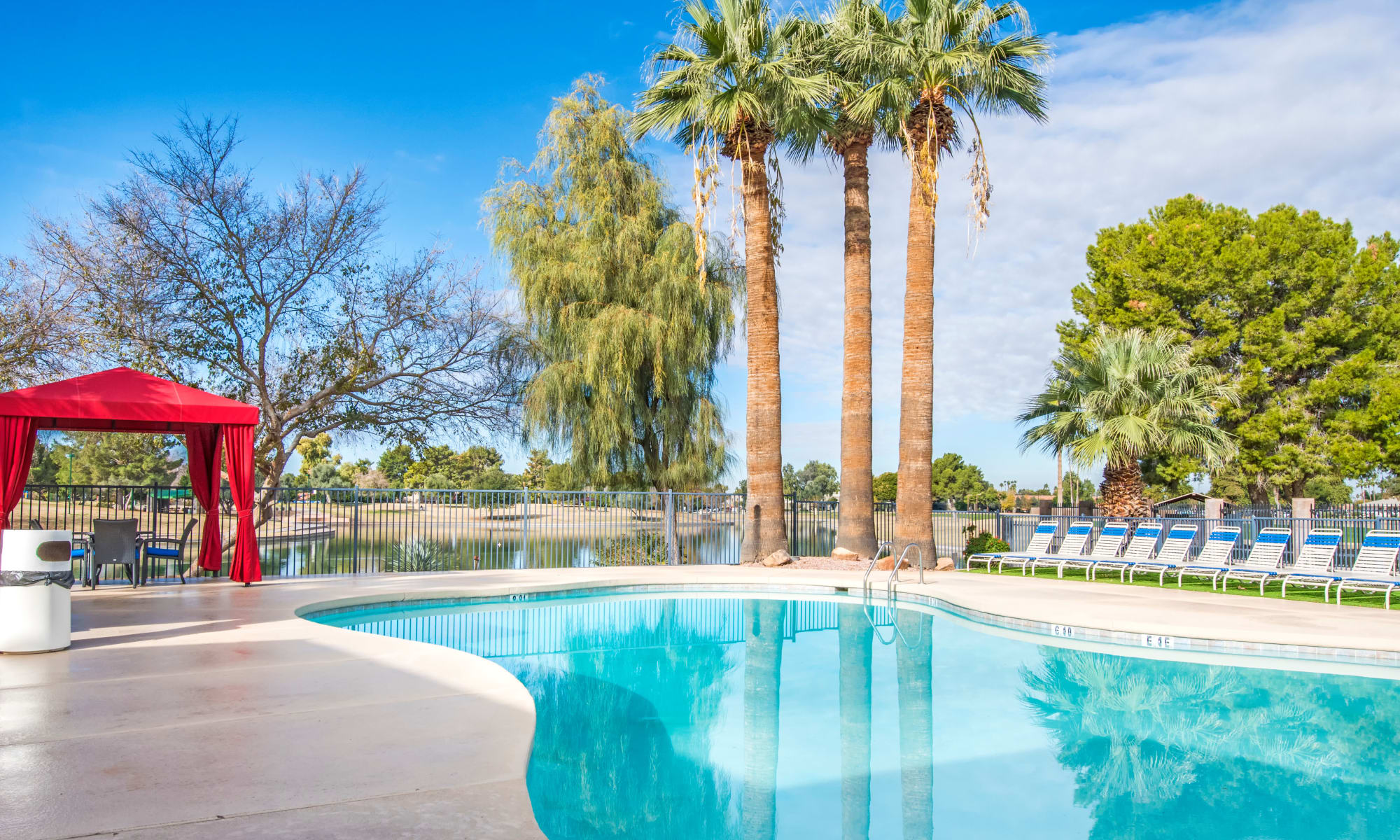 Discover report style amenities at Aventerra at Dobson Ranch