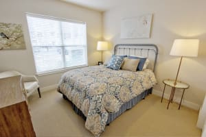 Second bedroom at The Pointe at Dorset Crossing in Simsbury, CT