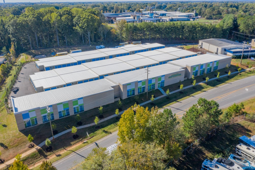 Sky view at Anchor Self Storage of Huntersville in Huntersville, North Carolina