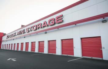 Exterior of Self Storage location