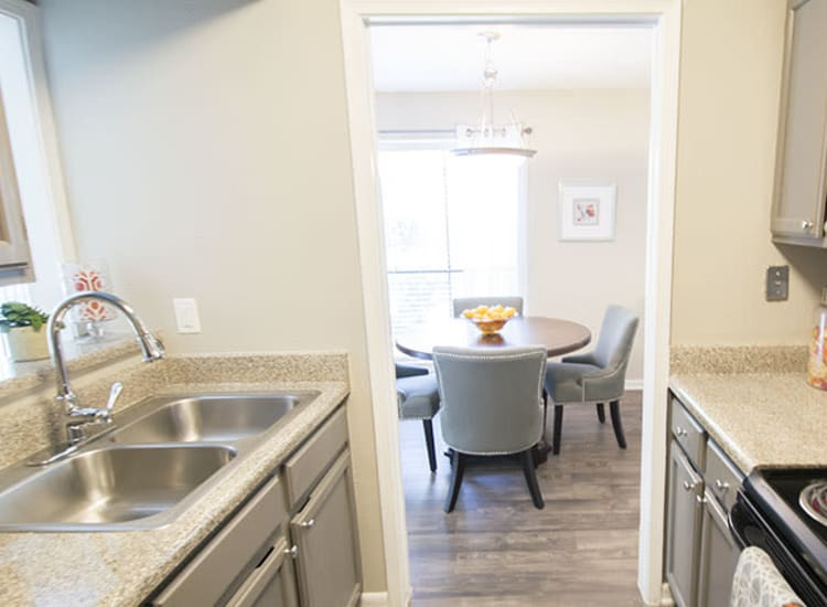 Open floor plans at Stonecrossing of Westchase in Houston, Texas.