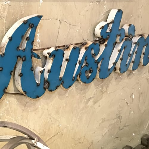 Austin city sign near 44 South in Austin, Texas
