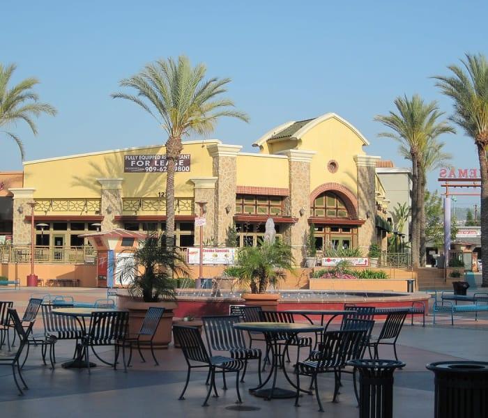 Shopping and food near West Covina, California near Merrill Gardens at West Covina