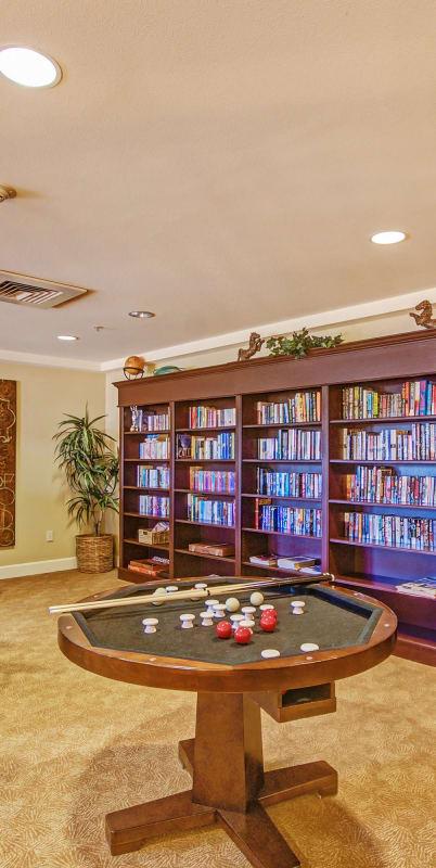 Library at The Commons at Elk Grove in Elk Grove, California